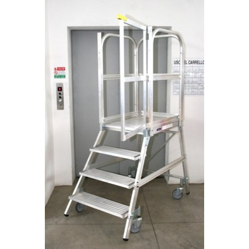 Escalier avec garde-corps, plate-forme PALCO