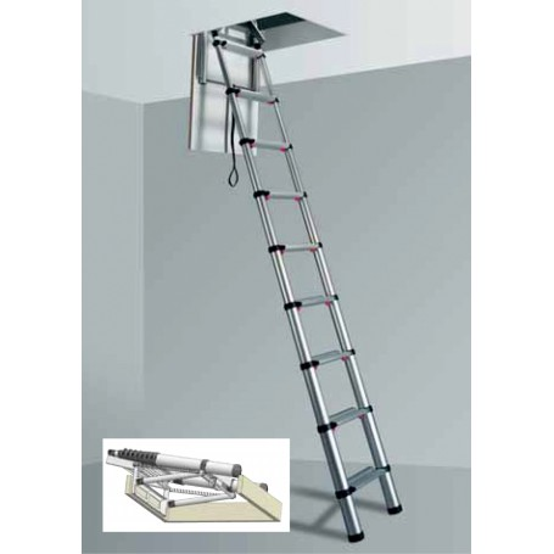 chelle de grenier t lescopique loft line par t lesteps. Black Bedroom Furniture Sets. Home Design Ideas