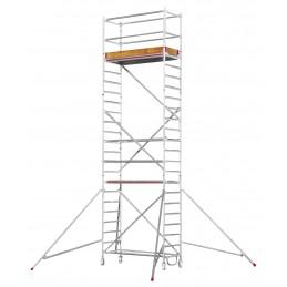 Echafaudage roulant HYMER SC60-6472 (plateforme 0,80 x 1,90 m)