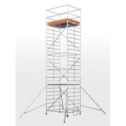Echafaudage roulant HYMER SC60-6473 (plateforme 1,50 x 1,90 m)