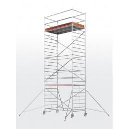 Echafaudage roulant HYMER SC60-6773 (plateforme 1,50 x 2,45 m)