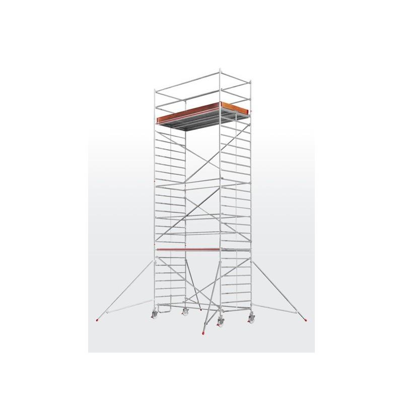 Echafaudage roulant SC60 - plateforme 1,50 x 2,45 m