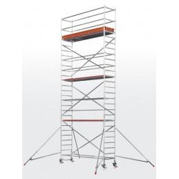 Echafaudage roulant HYMER SC60-6371 (plateforme 0,80 x 2,95 m)