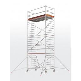 Echafaudage roulant HYMER SC60-6373 (plateforme 1,50 x 2,95 m)